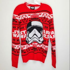 Star Wars Christmas style Storm Trooper sweater T